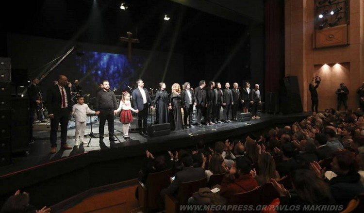 Συγκλόνισε η παράσταση «Δέηση του Πόντου», στη Μονή Λαζαριστών (φωτο, βίντεο)
