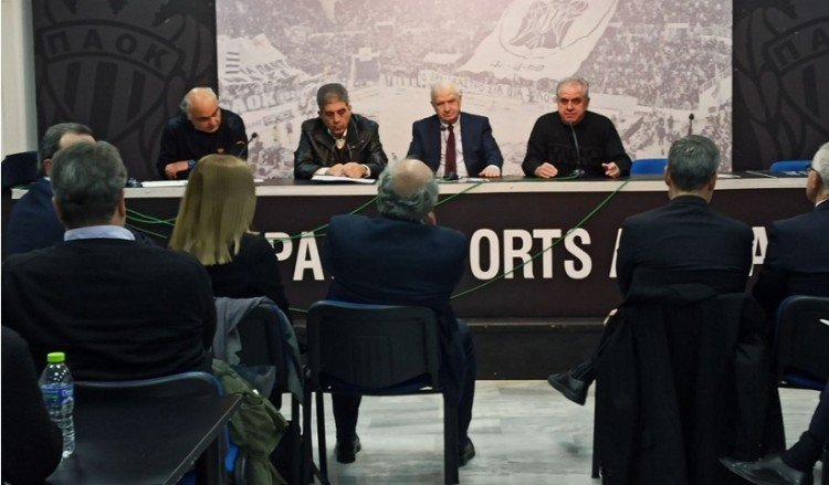 Ο ΑΣ ΠΑΟΚ ενημέρωσε βουλευτές της Θεσσαλονίκης