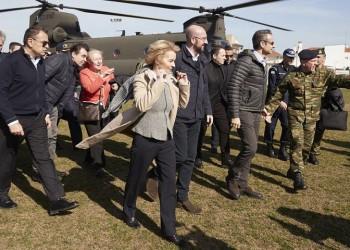 Έβρος: Ο Μητσοτάκης υποδέχτηκε την ηγεσία της ΕΕ
