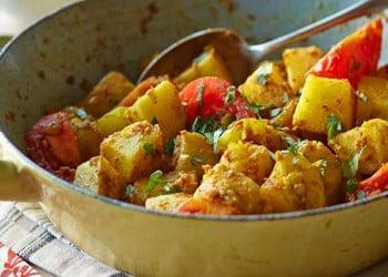 Εξωτικές πατάτες Βομβάης