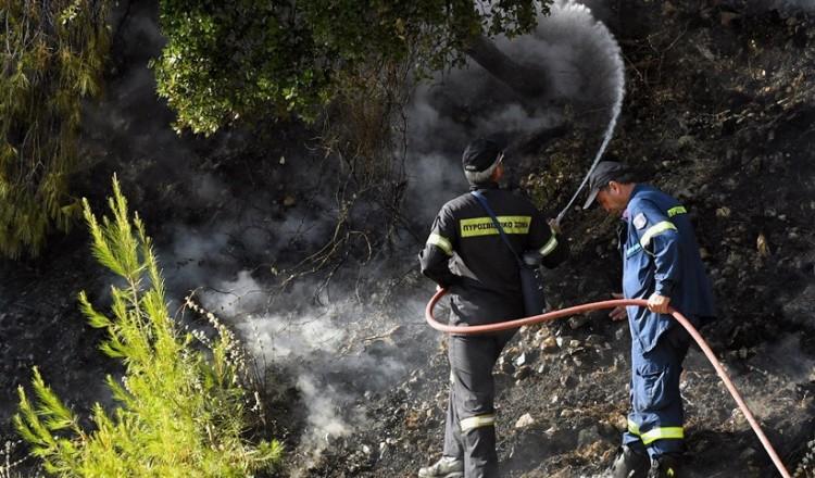 Δύο νέες φωτιές σε εξέλιξη, σε Ηλεία και Λέσβο