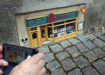 Ricotta Records, ένα «δισκοπωλείο» για ποντίκια στη Σουηδία (φωτο)
