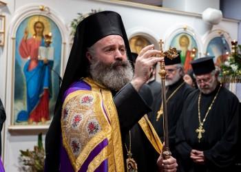 Ο Αρχιεπίσκοπος Αυστραλίας Μακάριος (φωτ. αρχείου)