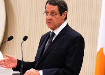 Ο Νίκος Αναστασιάδης (φωτ. αρχείου: ΑΠΕ-ΜΠΕ)