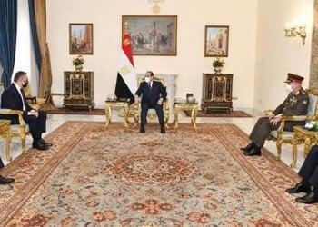 Ο Νίκος Παναγιωτόπουλος στην Αίγυπτο – Συναντήθηκε με Αλ Σίσι και Ζάκι