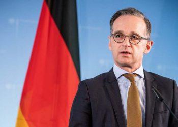 Ο Γερμανός υπουργός Εξωτερικών Χάικο Μάας (φωτ.: EPA)