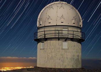Άποψη του Αστεροσκοπείου Σκίνακα, στον Ψηλορείτη (φωτ.: skinakas.physics.uoc.gr)