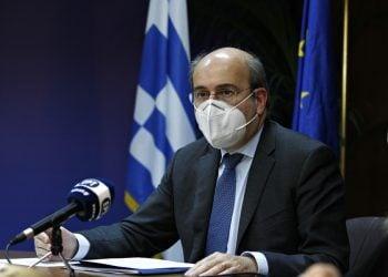 Ο υπουργός Εργασίας και Κοινωνικών Υποθέσεων Κωστής Χατζηδάκης (φωτ.: ΑΠΕ-ΜΠΕ/Αλέξανδρος Βλάχος)