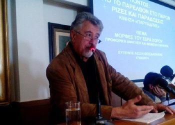 Ο Μιχάλης Καραβέλας (φωτ.: pontos-news.gr)