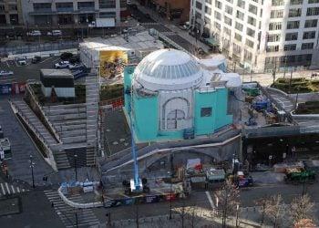 Ο ναός του Αγίου Νικολάου στις 6 Ιανουαρίου 2021 (φωτ.: Facebook / St. Nicholas Greek Orthodox Church and National Shrine)