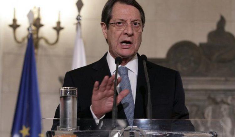 Ο Νίκος Αναστασιάδης (φωτ. αρχείου: ΑΠΕ-ΜΠΕ / Συμέλα Παντζαρτζή)
