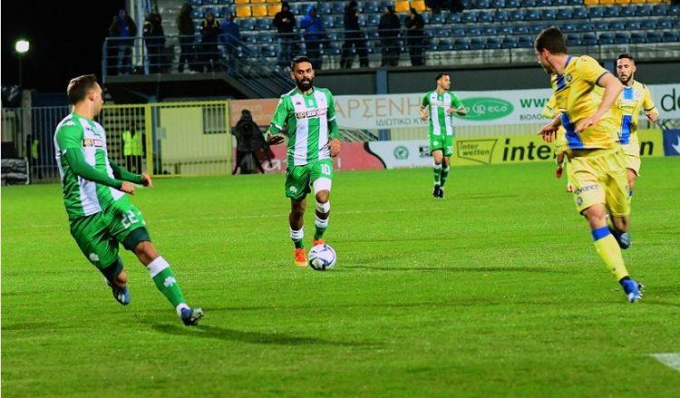 Εικόνα από το παιχνίδι Αστέρας Τρίπολης-Παναθηναϊκός για την 25η αγωνιστική της Super League, στο «Θεόδωρος Κολοκοτρώνης» (φωτ. αρχείου: ΑΠΕ-ΜΠΕ / Κώστας Κολλιντζογιαννάκης)