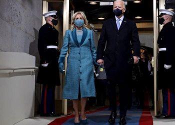 Ο Τζο Μπάιντεν και η σύζυγός του Τζιλ (φωτ.: EPA / Jonathan Ernst / Pool)