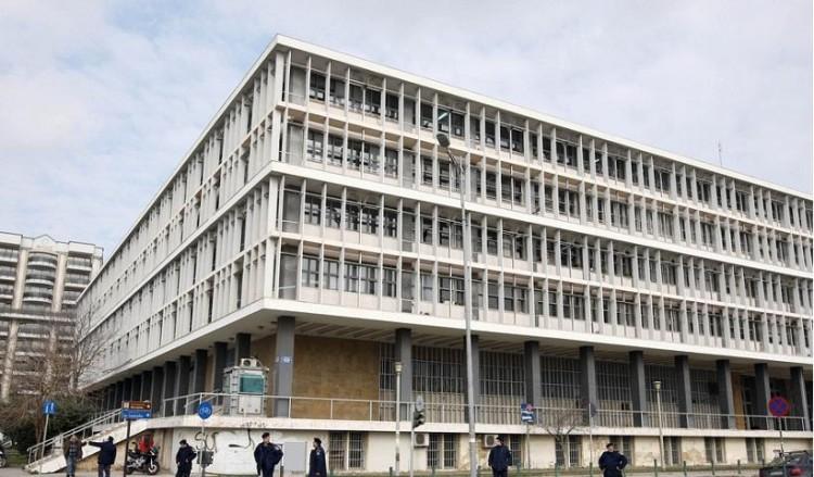 Εικόνα από το δικαστικό μέγαρο Θεσσαλονίκης (φωτ. αρχείου: ΑΠΕ-ΜΠΕ / Βαγγέλης Μπλέτζας)