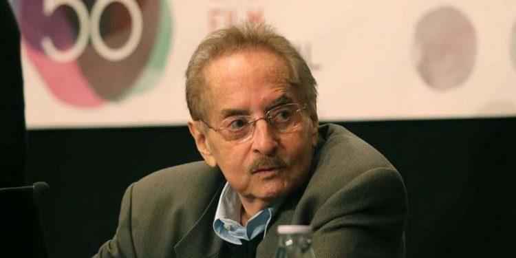 Ο Δημήτρης Εϊπίδης κατά τη διάρκεια συνέντευξης τύπου για το πρόγραμμα του 56ου Φεστιβάλ Κινηματογράφου Θεσσαλονίκης (φωτ.: ΑΠΕ-ΜΠΕ / Σωτήρης Μπαρμπαρούσης)