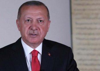 Ο Ρετζέπ Ταγίπ Ερντογάν (φωτ. αρχείου: EPA / Turkish President Press Office)