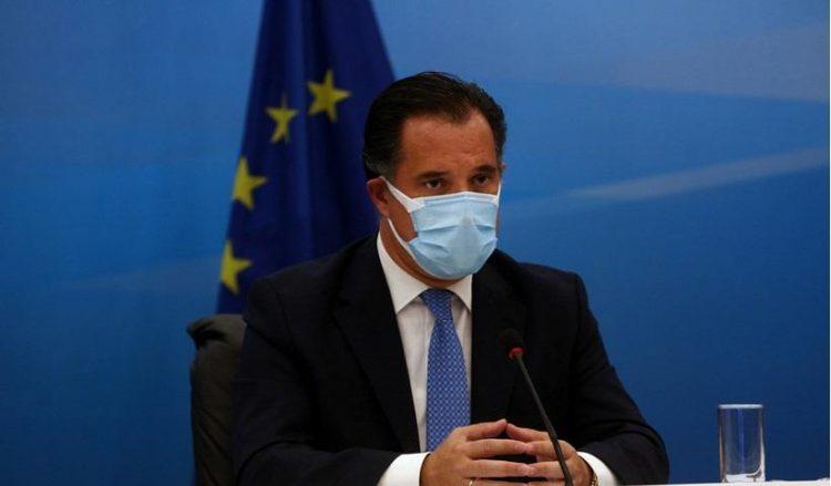 Ο υπουργός Ανάπτυξης Άδωνις Γεωργιάδης (φωτ.: ΑΠΕ-ΜΠΕ / Αλέξανδρος Μπελτές)