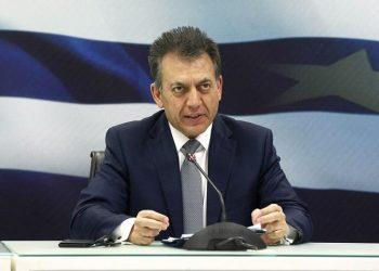 Ο υπουργός Εργασίας και Κοινωνικών Υποθέσεων Γιάννης Βρούτσης (φωτ.: ΑΠΕ-ΜΠΕ / POOL / Αλέξανδρος Βλάχος)