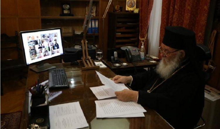 (Φωτ.: Ιερά Αρχιεπισκοπή Αθηνών / Χρήστος Μπόνης)