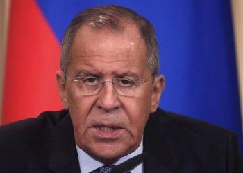 Ο Σεργκέι Λαβρόφ (φωτ. αρχείου: EPA / Maxim Shipenkov)