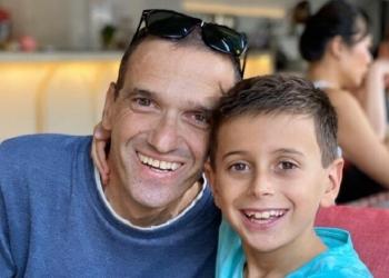 loukas kid and dad themistoklis 0