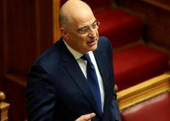 Ο υπουργός Εξωτερικών Νίκος Δένδιας (φωτ.: ΑΠΕ-ΜΠΕ/ Ορέστης Παναγιώτου)