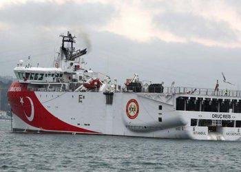 Το τουρκικό πλοίο «Oruç Reis» (φωτ. αρχείου: EPA / Tolga Bozoglu)