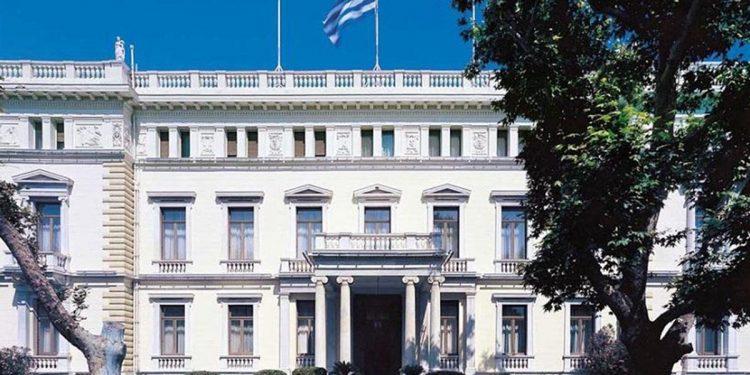 Εξωτερική άποψη του Προεδρικού Μεγάρου (φωτ.: presidency.gr)