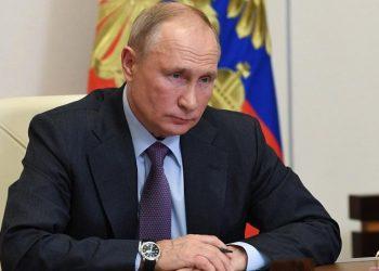 (Φωτ.: Alexei Nikolsky / Sputnik /Kremlin / Pool)