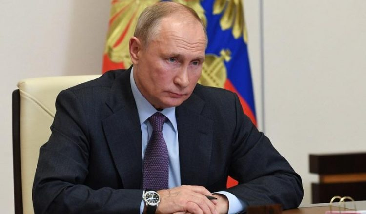 (Φωτ.: Alexei Nikolsky / Sputnik / Kremlin / Pool)