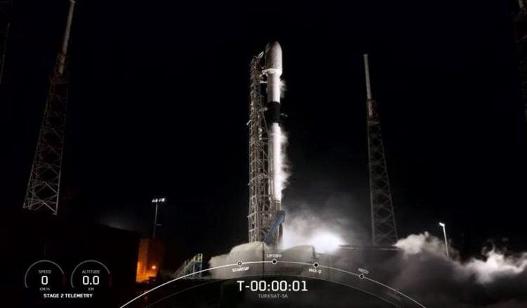 Πλάνο από το κανάλι της SpaceX στο YouTube