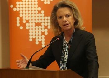 Η ευρωβουλευτής Ελίζα Βόζενμπεργκ (φωτ.: ΑΠΕ-ΜΠΕ / Αλέξανδρος Μπελτές)