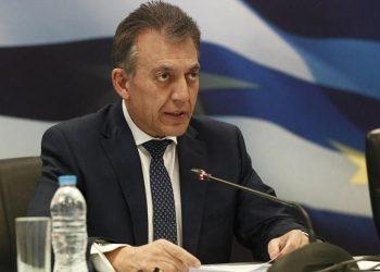 Ο υπουργός Εργασίας και Κοινωνικών Υποθέσεων Γιάννης Βρούτσης σε συνέντευξη Τύπου (φωτ. αρχείου: ΑΠΕ-ΜΠΕ / Αλέξανδρος Βλάχος)
