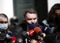 Ο Αλέξης Κούγιας, συνήγορος των επτά αστυνομικών(φωτ.: ΑΠΕ-ΜΠΕ/Γιάννης Κολεσίδης)