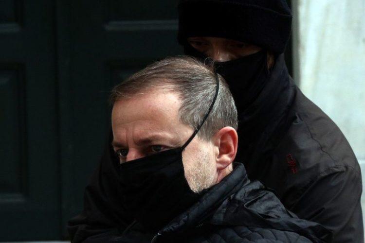 Ο Δημήτρης Λιγνάδης στην Ευελπίδων (φωτ.: ΑΠΕ-ΜΠΕ/ Ορέστης Παναγιώτου)