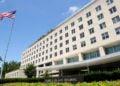 Το «Harry S. Truman Building», τα κεντρικά γραφεία του υπουργείου Εξωτερικών των ΗΠΑ (φωτ.: EPA / Mike Theiler)