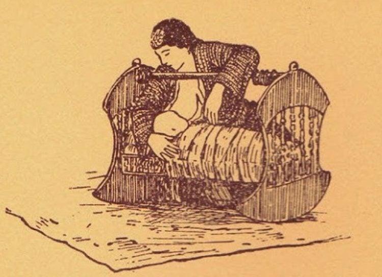 Εικόνα από το βιβλίο «Ελληνικός Πόντος – Μορφές και εικόνες ζωής», του Συλλόγου Ποντίων «Αργοναύται-Κομνηνοί». Το σκίτσο έχει φιλοτεχνήσει ο Χρήστος Δημάρχου