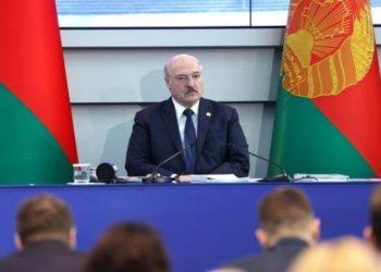 Ο πρόεδρος της Λευκορωσίας, Αλεξάντερ Λουκασένκο (φωτ.: Reuters / eurovisionfun.com)