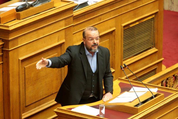 Ο βουλευτής του ΣΥΡΙΖΑ Αλέξης Τριανταφυλλίδης (φωτ.: ΑΠΕ-ΜΠΕ /Παντελής Σαΐτας)