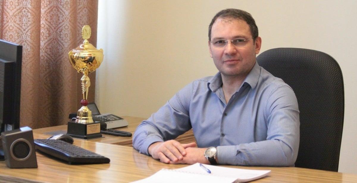 Ο Πόντιος αξιωματούχος της Ρωσικής Ομοσπονδίας Χρηστάκης Αλεξανδρίδης (φωτ.: Αρχείο Χ.Α.)