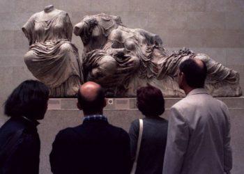 Διακάης πόθος όλων των Ελλήνων η επιστροφή των περίφημων Γλυπτών (φωτ.: ΑΠΕ-ΜΠΕ / Ορέστης Παναγιώτου)