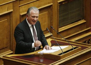 Ο βουλευτής του ΚΙΝΑΛ Γιώργος Μουλκιώτης (φωτ.: ΑΠΕ-ΜΠΕ / Αλέξανδρος Βλάχος)