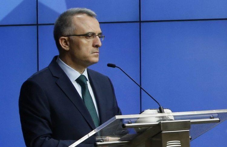 Ο απερχόμενος διοικητής της Κεντρικής Τράπεζας της Τουρκίας και πρώην υπουργός Οικονομικών της χώρας Νατσί Αγκμπάλ (φωτ.:  EPA / OLIVIER HOSLET)