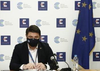 Ο υφυπουργός Πολιτικής Προστασίας και Διαχείρισης Κρίσεων Νίκος Χαρδαλιάς (φωτ.: ΑΠΕ-ΜΠΕ/Γιάννης Κολεσίδης)