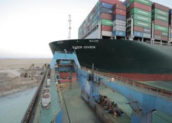 (Φωτ.: EPA / Suez Canal Authority)