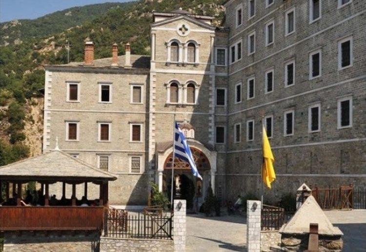 Η Μονή του Αγίου Παύλου στο Άγιον Όρος (φωτ. αρχείου: ΑΠΕ-ΜΠΕ / ΚΕΔΑΚ)