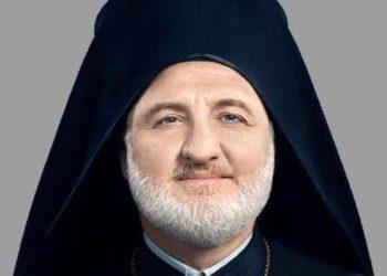 O αρχιεπίσκοπος Αμερικής (Φωτ.:Facebook/ Archbishop Elpidophoros of America)