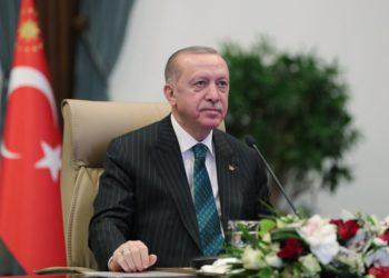 (Φωτ.: ΑΠΕ-ΜΠΕ/ Turkish President Press Office)