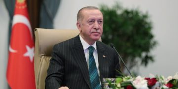 (Φωτ.: ΑΠΕ-ΜΠΕ/ Turkish President Press Office)