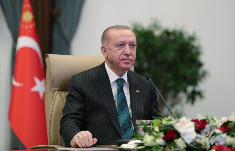 (Φωτ.: ΕPA / Προεδρία της Δημοκρατίας της Τουρκίας)